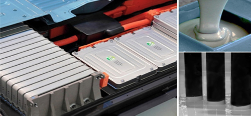 Thermally Conductive Materials for Electric and Hybrid Vehicle Batteries application